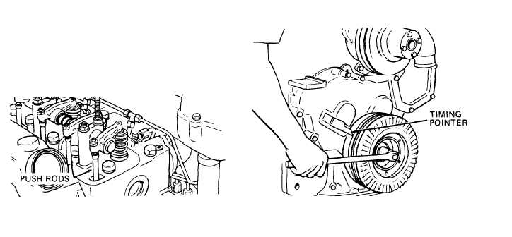 3) Valve Tappet Clearance Adjustment (Cont)